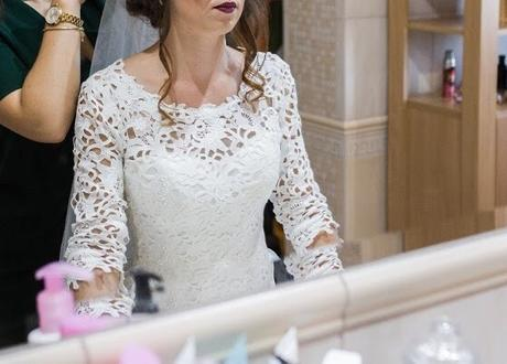 Svadobné šaty s vreckami - Obrázok č. 4