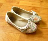 květované střevíčky, baleríny, 31