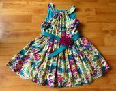 zelené šaty se spodničkou, 122
