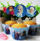 košíčky na muffiny, cupcakes- frozen,