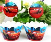 košíčky na cup cakes nebo muffiny - 12 ks ,