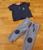 nenošený set - kalhoty+ polotriko z HM, 80