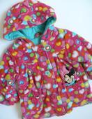 barevný teplý kabátek pro parádnici, 98