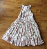 bavlněné dlouhé šaty next, 128