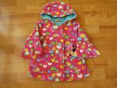 barevný dívčí kabát- disney, 104