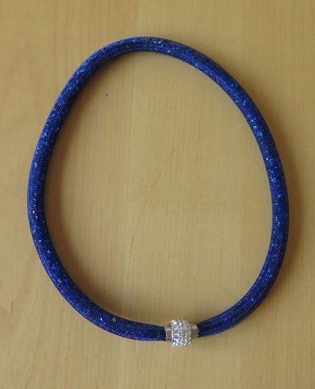 nenošený náhrdelník - modrý - Obrázek č. 1