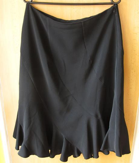 černá společenská sukně - Obrázek č. 1