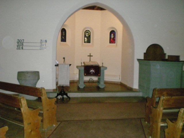 Predpripravy na 8.8.2009 - oltar