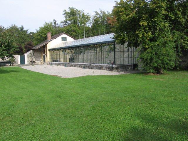 Predpripravy na 8.8.2009 - zahrada , tu bude apero hned po kostole