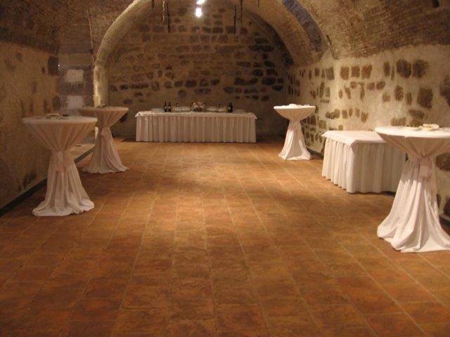 Predpripravy na 8.8.2009 - tanecna sala aj s bufetom