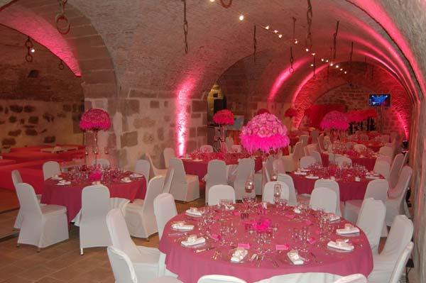 Predpripravy na 8.8.2009 - Chateau de coppet