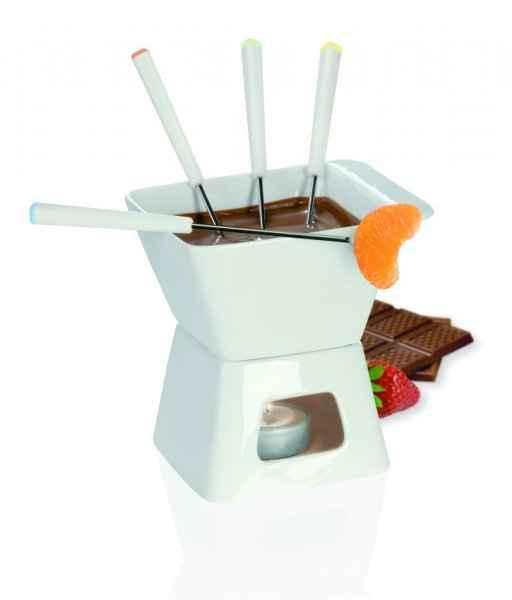 Vybavení do kuchyně - Fondue na čokoládu určitě bude. Nevíte,jestli se v ní dá dělat i sýrové nebo na to musím mít zvlášt nádobu?