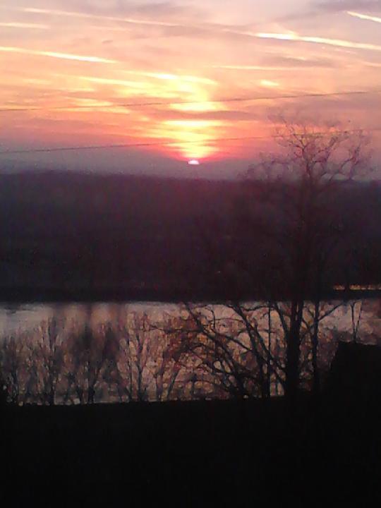 Výhledy - Západ Slunce