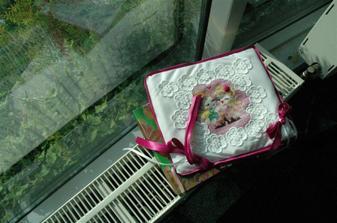 vankusik na prstienky od tety Katky,špeci usity pre nás