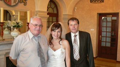 tatínek s dědečkem :)