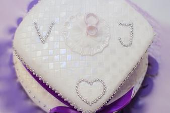 Detail našeho dortíku