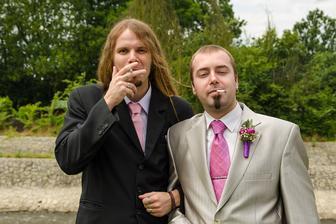 tohle byla prakticky poslední cigareta mého muže, od svatby se drží a už nekouří ;-)