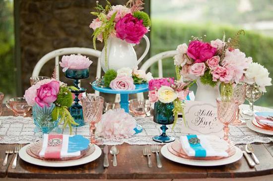 Tipy na prostírání stolů - Obrázek č. 1
