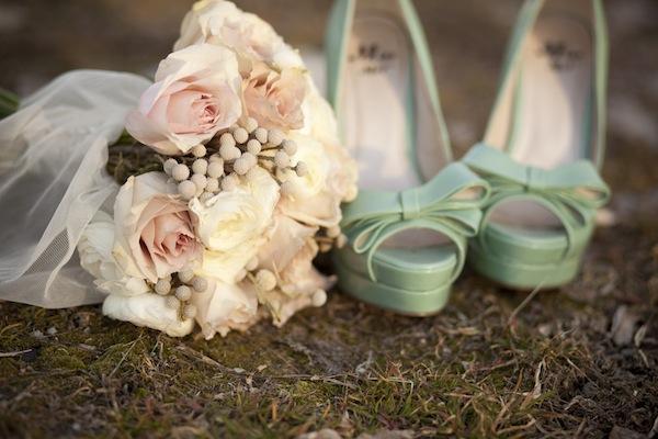 Svatba v pepermint/mátové barvě - Obrázek č. 12