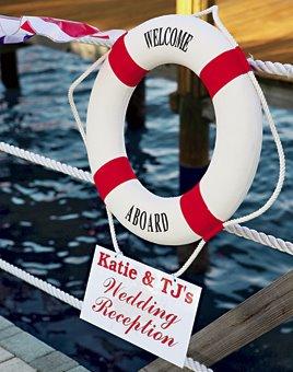 Námořnický styl svatby.... vzhůru na palubu!!! - Obrázek č. 5