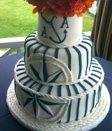 Námořnický styl svatby.... vzhůru na palubu!!! - Obrázek č. 26