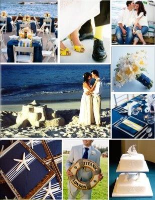 Námořnický styl svatby.... vzhůru na palubu!!! - Obrázek č. 27