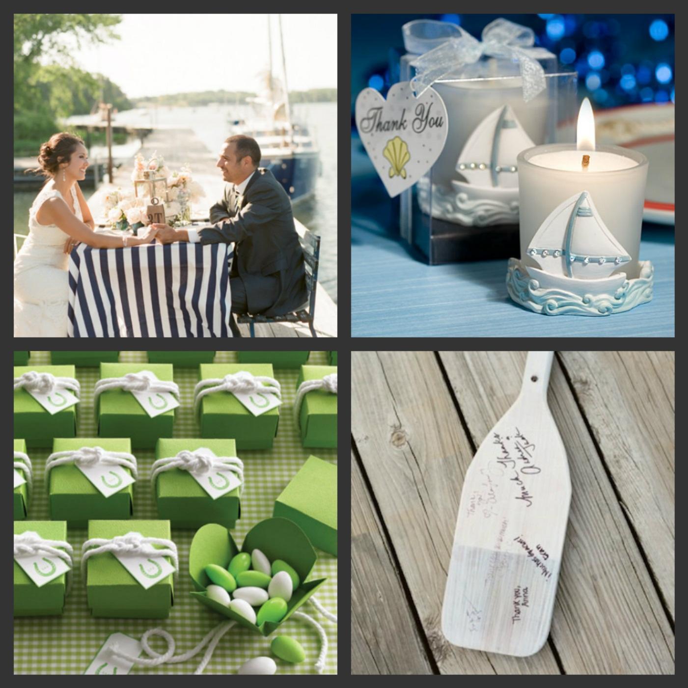 Námořnický styl svatby.... vzhůru na palubu!!! - Obrázek č. 34