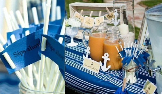 Námořnický styl svatby.... vzhůru na palubu!!! - Obrázek č. 35