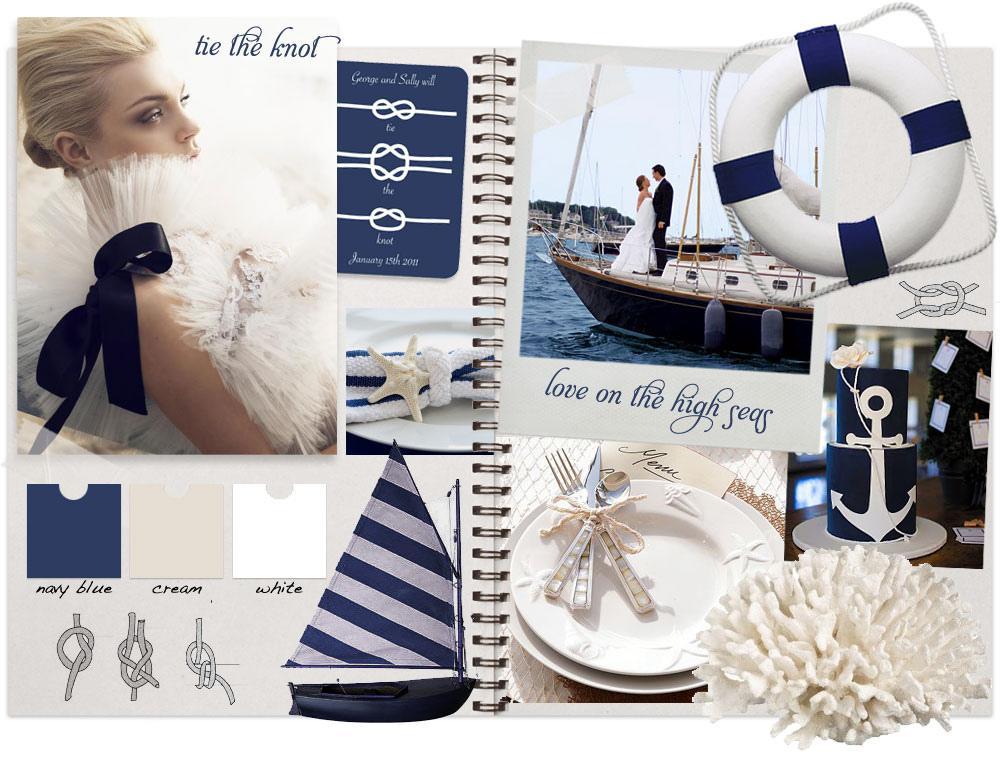 Námořnický styl svatby.... vzhůru na palubu!!! - Obrázek č. 38