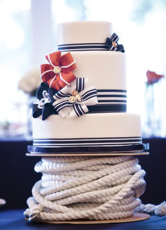 Námořnický styl svatby.... vzhůru na palubu!!! - Obrázek č. 39