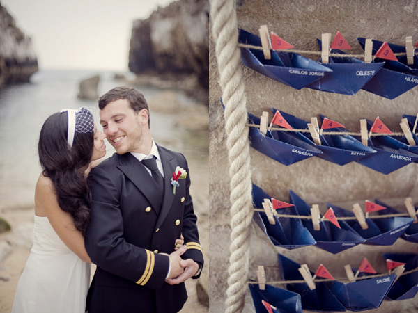 Námořnický styl svatby.... vzhůru na palubu!!! - Obrázek č. 70