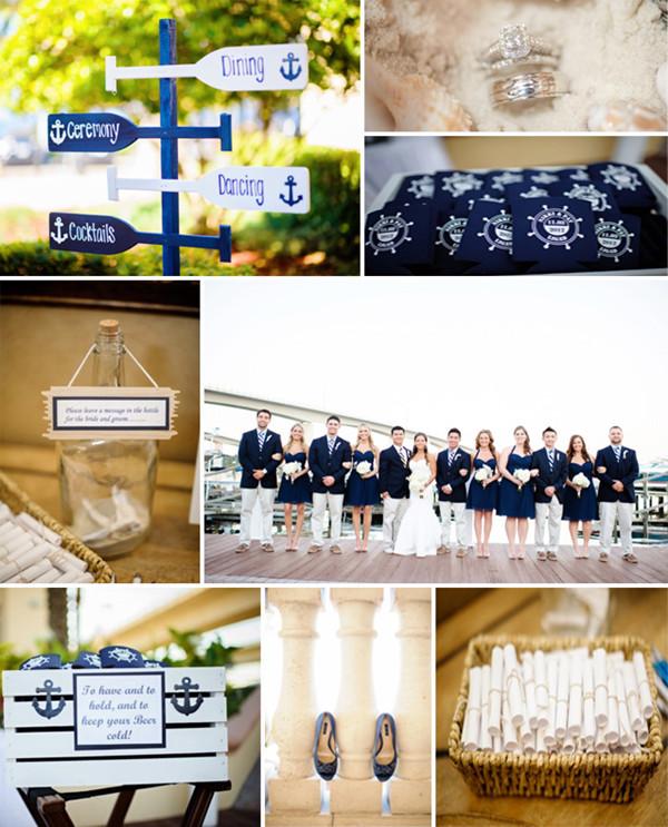 Námořnický styl svatby.... vzhůru na palubu!!! - Obrázek č. 74