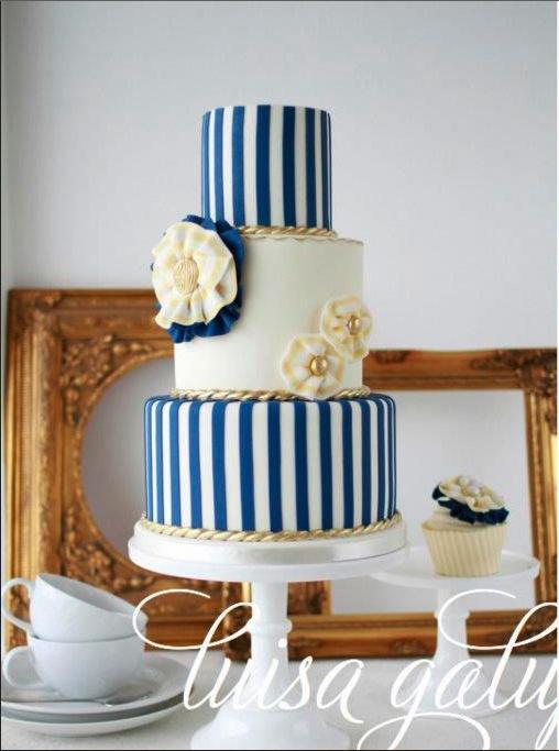 Námořnický styl svatby.... vzhůru na palubu!!! - Obrázek č. 78