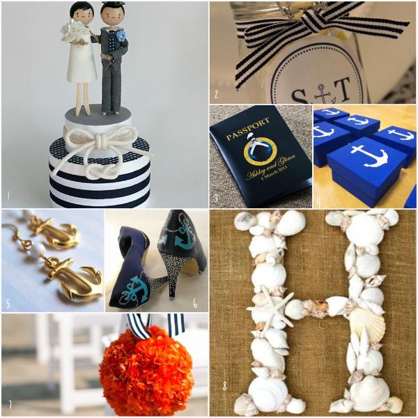 Námořnický styl svatby.... vzhůru na palubu!!! - Obrázek č. 81