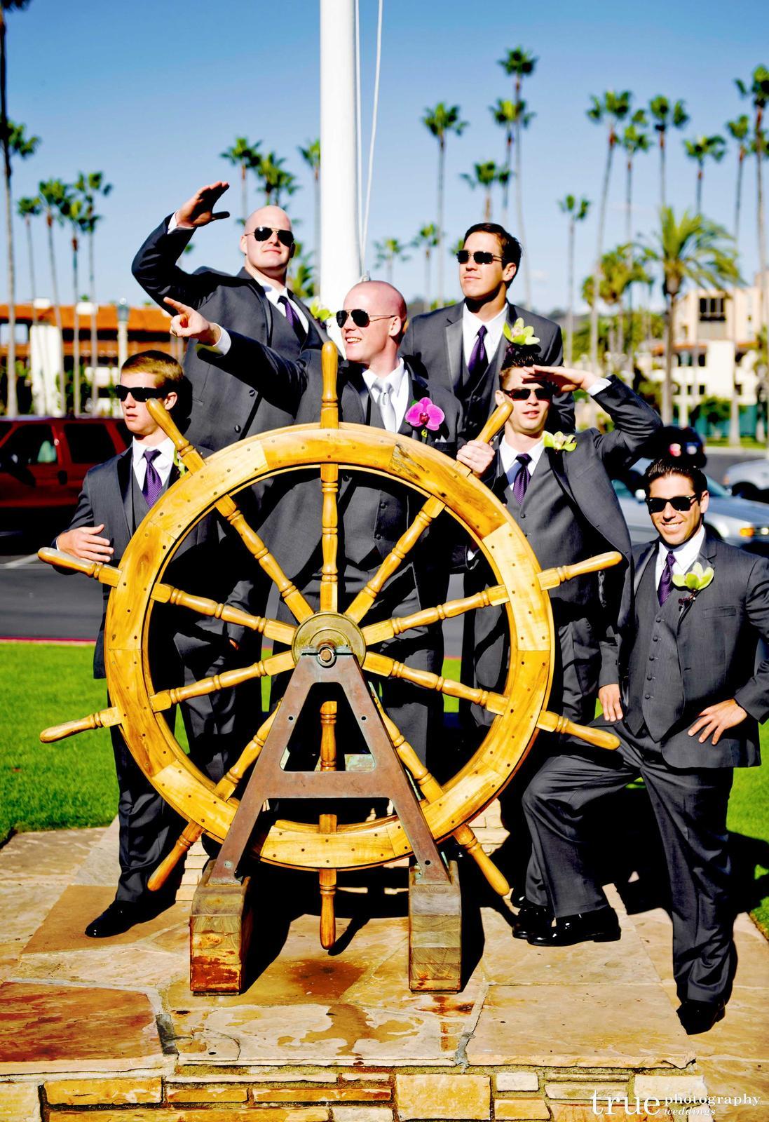 Námořnický styl svatby.... vzhůru na palubu!!! - Obrázek č. 85