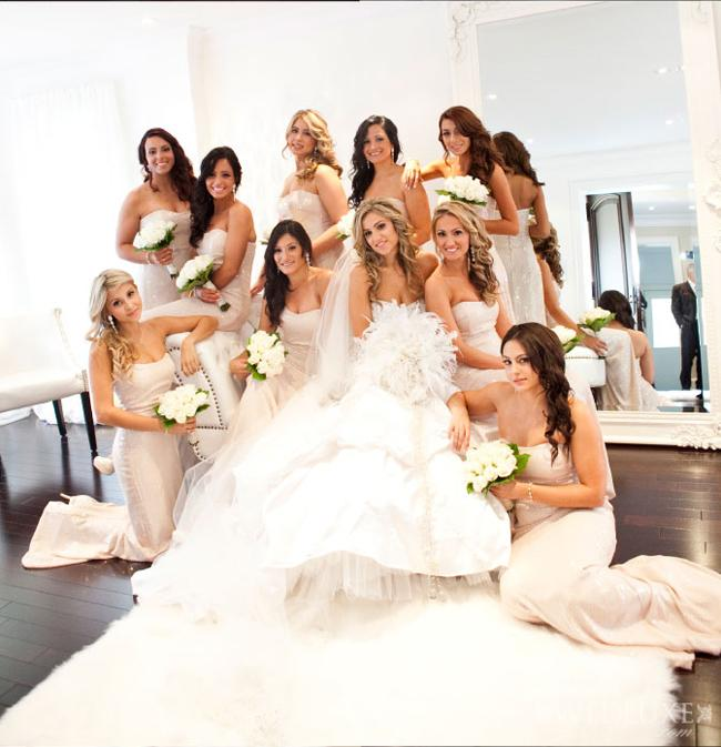 Svatba komplet čistě bílá - Obrázek č. 7
