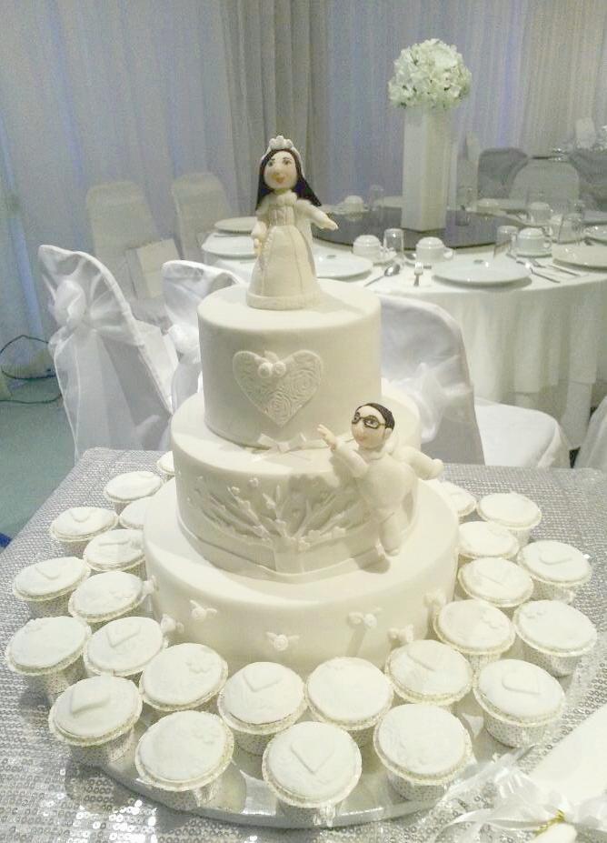 Svatba komplet čistě bílá - Obrázek č. 26