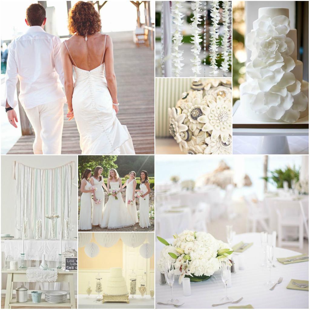 Svatba komplet čistě bílá - Obrázek č. 30