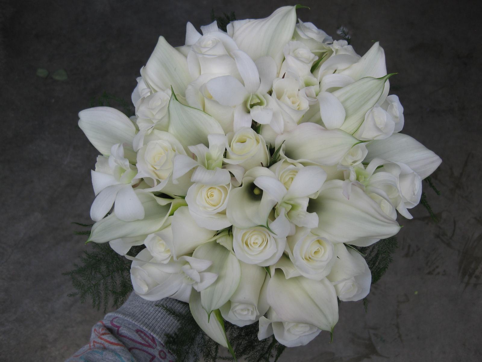 Svatba komplet čistě bílá - Obrázek č. 33