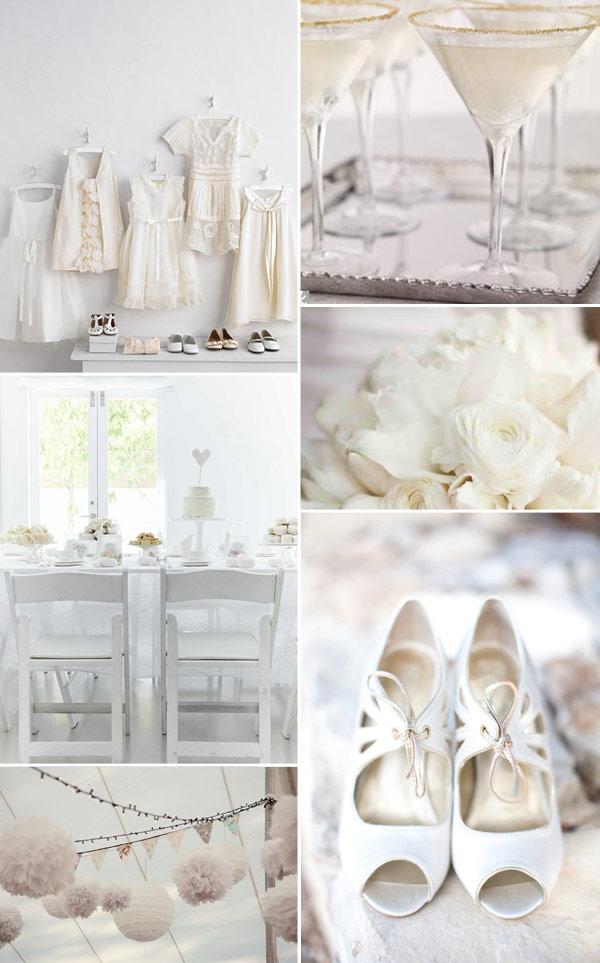 Svatba komplet čistě bílá - Obrázek č. 38