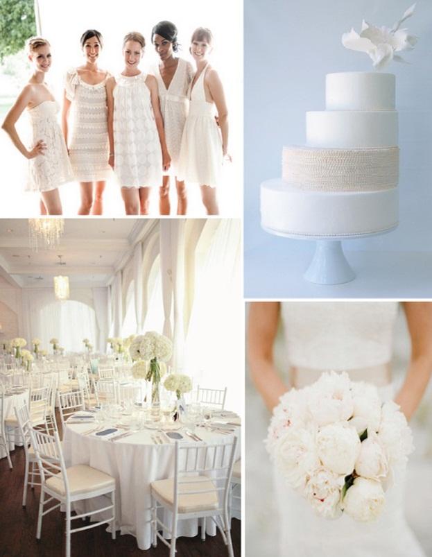 Svatba komplet čistě bílá - Obrázek č. 41