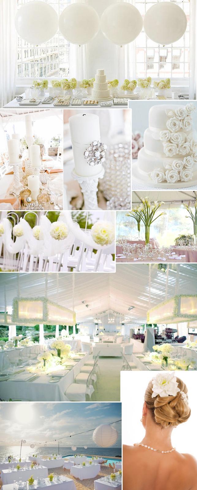 Svatba komplet čistě bílá - Obrázek č. 55