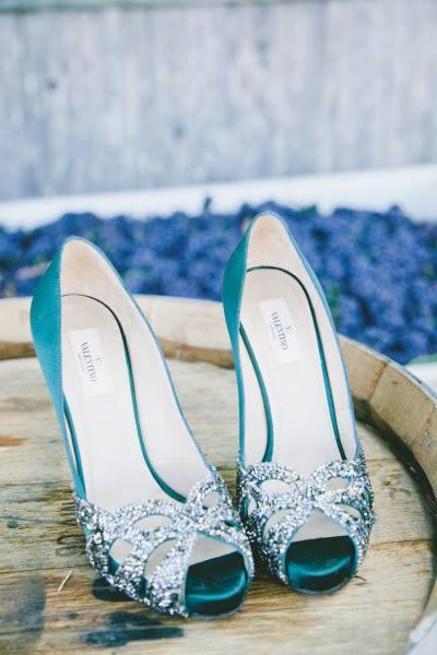 Modrá barva svatby - Obrázek č. 146