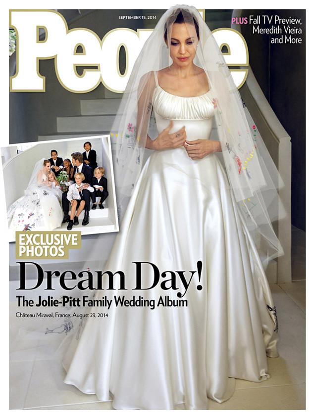 Hot news! - svatba Angelina Jolie & Brad Pitt - Obrázek č. 1