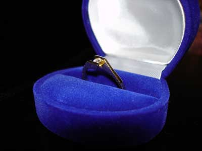 Láska - Môj zásnubný prsteň