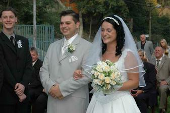 A takto sme sa usmievali počas celej svadby