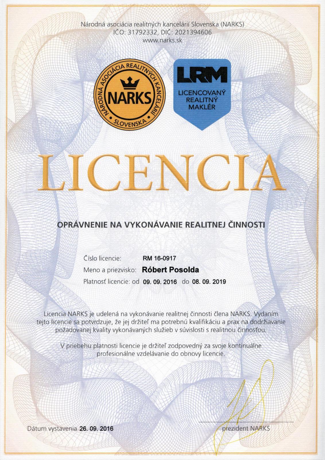 smartbrokers - Licencia realitného makléra