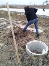 kopem studnu.. div mi nepřimrzla motyka