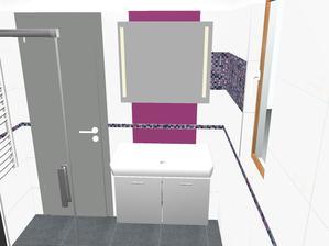 vizualizace spodní koupelny... za pár dní se snad začně už i s realizací :)