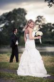 Svatební šaty vč. spodničky, 34